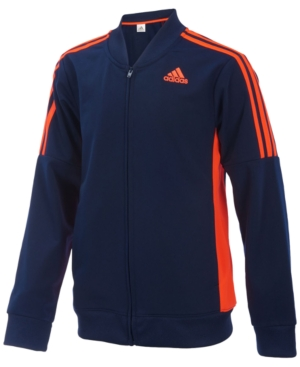 adidas Athletic Front-Zip...