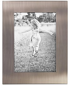 "Martha Stewart Collection Brushed Metal 5"" x 7"" Frame, Created for Macy's"