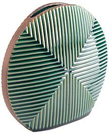 Zuo Green Round Vase