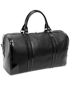 "McKlein Kinzie 20"" Leather Duffel Bag"