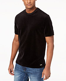 Sean John Men's Velour T-Shirt, Created for Macy's