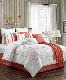 CLOSEOUT! Ronwyn 14-Pc. Queen Comforter Set
