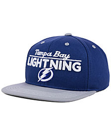 Outerstuff Boys' Tampa Bay Lightning Team Vize Snapback Cap