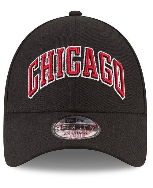 New Era Chicago Bulls Statement Jersey Hook 9FORTY Cap - Sports Fan Shop By  Lids - Men - Macy s f1963ab89fa0