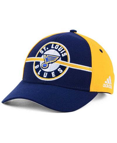adidas St. Louis Blues Circle Adjustable Cap