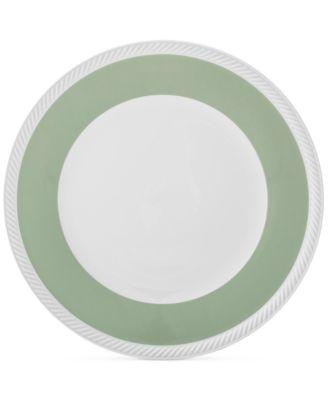 Twist  Sage Dinner Plate
