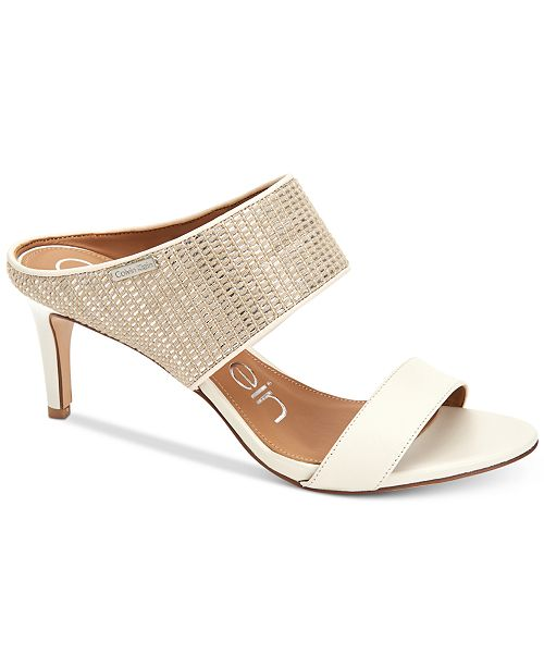 75c07b4cf2d4 Calvin Klein Women s Cecily Sandals