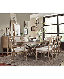 Bridgegate Rectangle Expandable Dining Furniture Collection