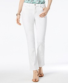 Petite Tummy-Control Bootcut Jeans, Created for Macy's