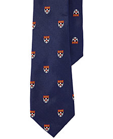 Lauren Ralph Lauren Men's Embroidered Silk Tie