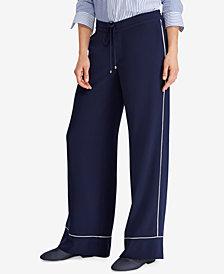 Lauren Ralph Lauren Wide-Leg Pants