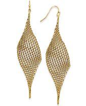 I.N.C. Mesh Drop Earrings, Created for Macy's