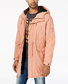 GUESS Men's Boyd Fishtail Parka