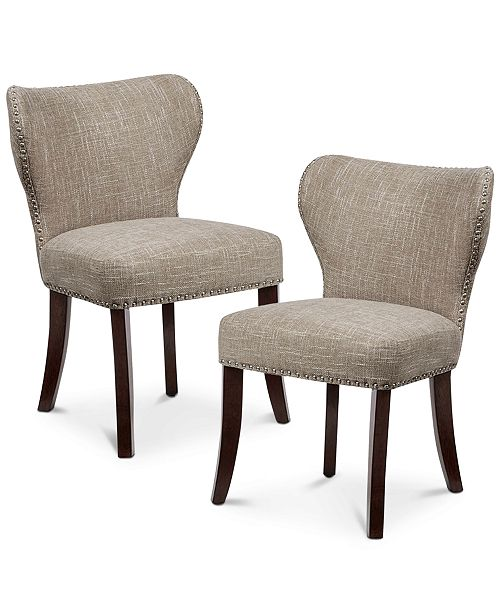 Carriage Co Jeston Tufted Dining Chair Set Of 2 Quick Ship