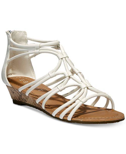 Esprit Cecile Strappy Wedge Sandals