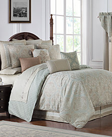 Waterford Reversible Gwyneth 4-Pc. California King Comforter Set