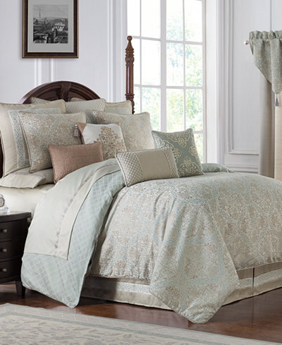 Waterford Reversible Gwyneth 4-Pc. King Comforter Set