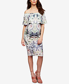 RIPE Maternity Off-The-Shoulder Sheath Dress
