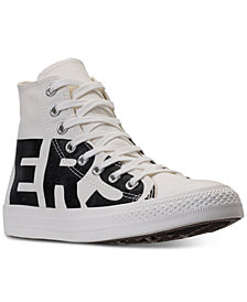 Converse Men's Chuck Taylor All Star Wordmark High Top Casual Sneakers from Finish Line