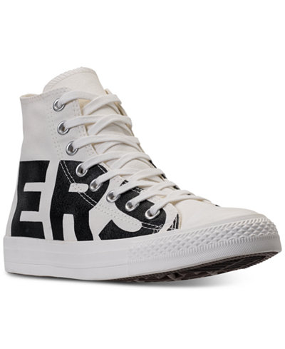 converse men's chuck taylor all star wordmark high top