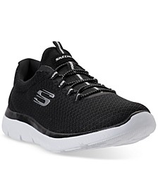 Women's Summits Wide Width Athletic Sneakers from Finish Line