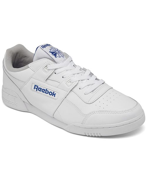Reebok Men s Workout Plus Casual Sneakers from Finish Line - Finish ... 7c99f1110