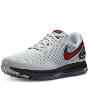 Nike Men S Zoom All Out Low 2 Running Sneakers From Finish Line In Grey d0ad644e5