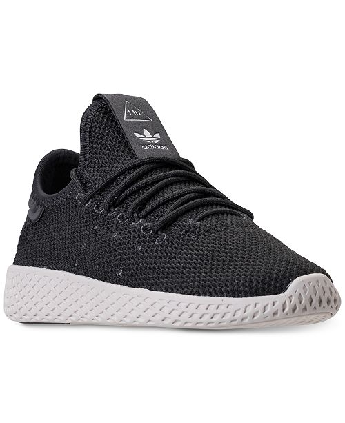 4c0a8bccd4891 ... adidas Little Boys  Originals Pharrell Williams Tennis HU Casual  Sneakers from Finish ...