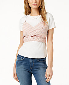 ASTR The Label  Maddie Layered-Look Top