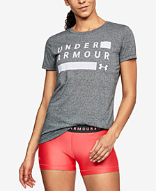 Under Armour Threadborne Logo Training T-Shirt