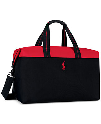 Ralph Lauren Receive A Complimentary Duffel Bag With Any Large Spray Purchase From The Polo Red Fragrance Collection All Perfume Beauty
