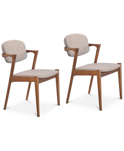 Cassee Dining Chair (Set Of 2), Quick Ship
