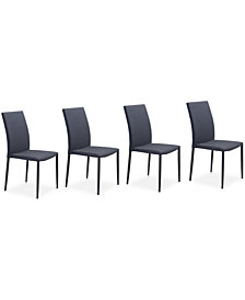 Hirano Dining Chair (Set Of 4), Quick Ship