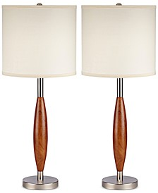 Pacific Coast Set of 2 Maj Table Lamp