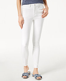 Maison Jules Frayed Skinny Jeans, Created for Macy's