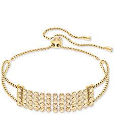 Swarovski Crystal Mesh Slider Bracelet