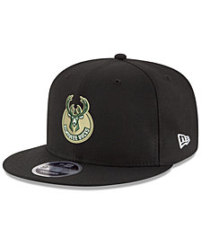 New Era Boys' Milwaukee Bucks Basic Link 9FIFTY Snapback Cap
