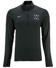 Nike Men's Xavier Musketeers Heather Dri-FIT Element Quarter-Zip Pullover