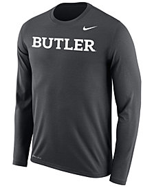 Nike Men's Butler Bulldogs Dri-FIT Legend Wordmark Long Sleeve T-Shirt