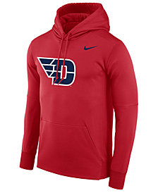 Nike Men's Dayton Flyers Therma Logo Hoodie