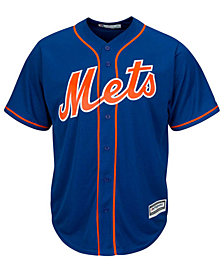 Majestic New York Mets MLB Men's Blank Replica CB 3XL-4XL Jersey