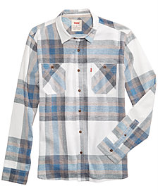 Levi's® Men's Flannel Plaid Shirt