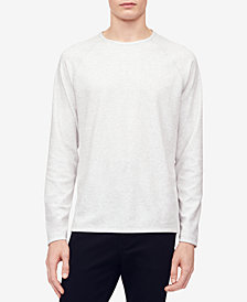 Calvin Klein Men's Heather Raglan-Sleeve T-Shirt
