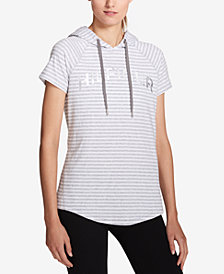 Tommy Hilfiger Sport Short-Sleeve Logo Hoodie, Created for Macy's