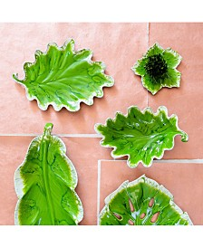 Vietri Reactive Leaves Collection