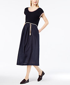 Weekend Max Mara Layered-Look Midi Dress