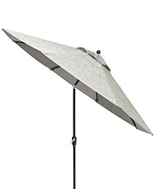 Vintage II Outdoor 9' Auto-Tilt Umbrella, Created for Macy's