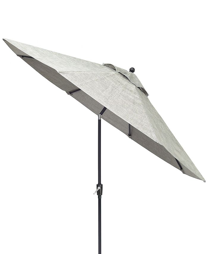 Furniture - Vintage II Outdoor 9' Auto-Tilt Umbrella