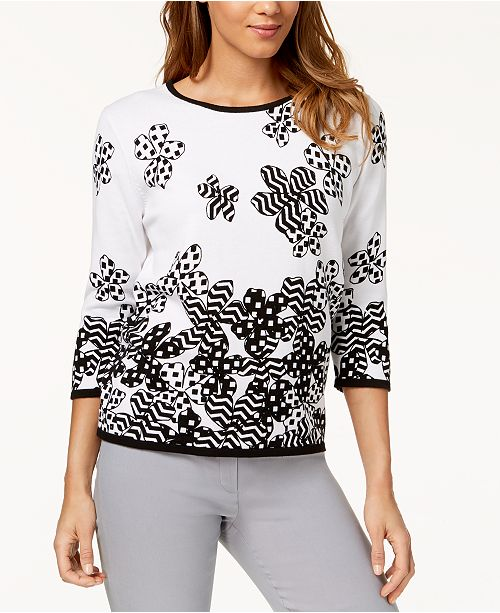 Petite Cotton Upper East Side Sweater