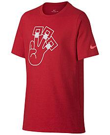 Nike Dri-FIT Graphic-Print T-Shirt, Big Boys